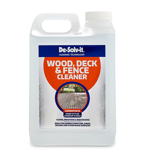 De Solv It 174 Wood Deck And Fence Cleaner Concentrate